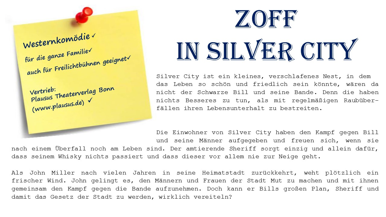 Zoff in Silver City