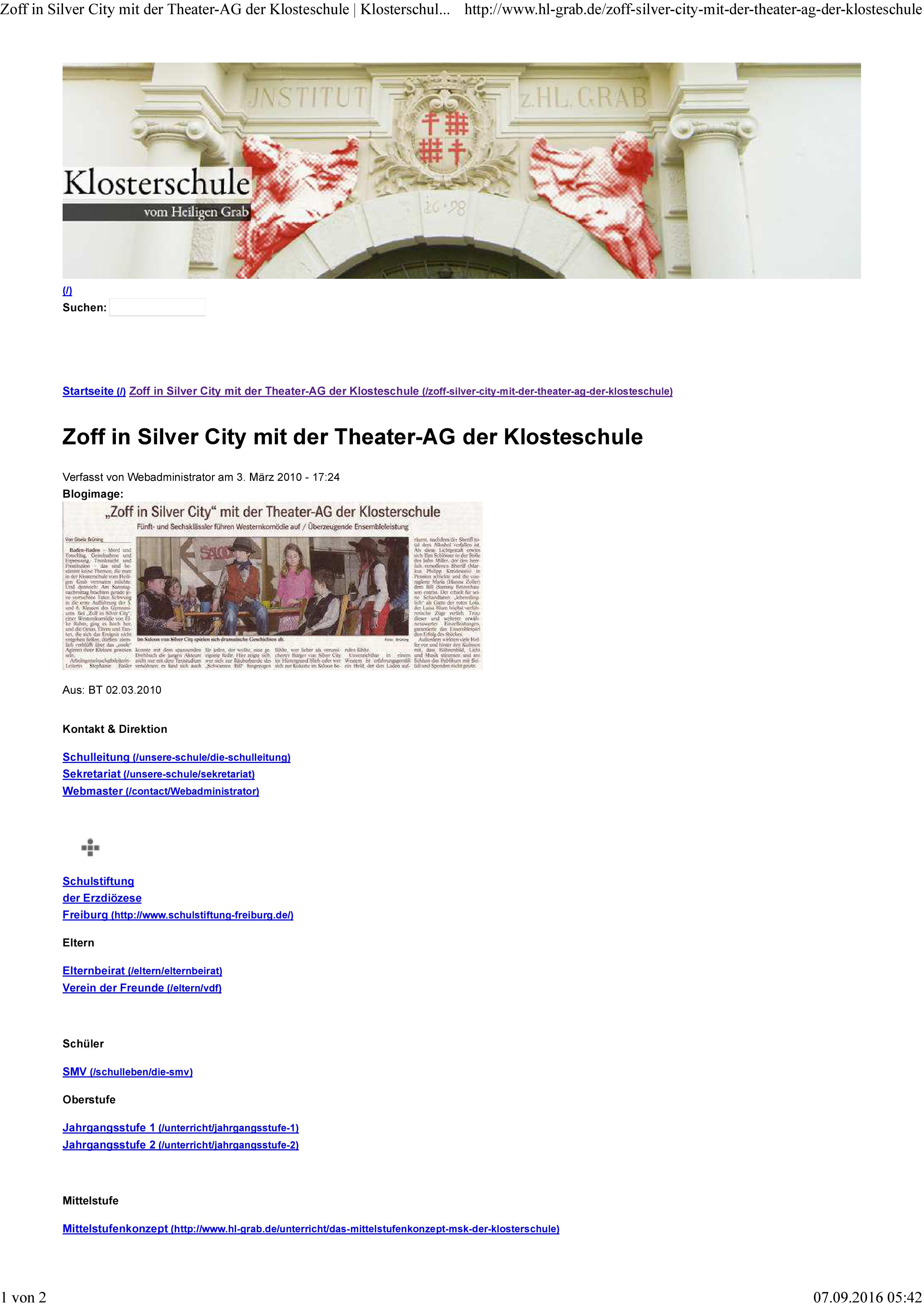 theater-ag-klosterschule